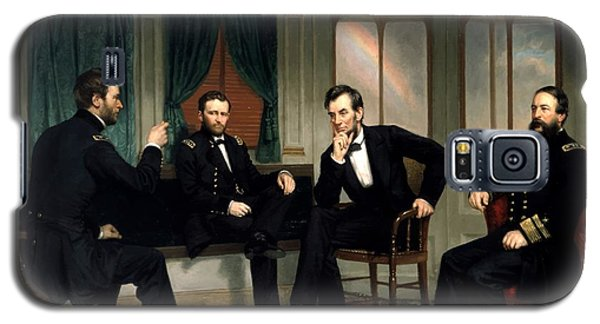Civil War Union Leaders -- The Peacemakers Galaxy S5 Case by War Is Hell Store