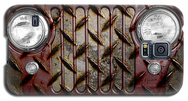 Civilian Jeep- Maroon Galaxy S5 Case