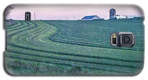 Farm Fields At Dusk Galaxy S5 Case