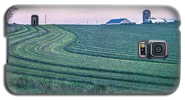 Farm Fields At Dusk Galaxy S5 Case