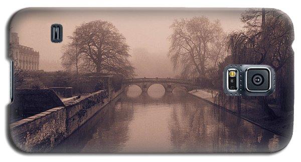 Claire College Bridge Cambridge Galaxy S5 Case by David Warrington
