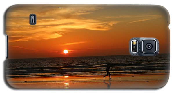 Clam Digging At Sunset - 3 Galaxy S5 Case