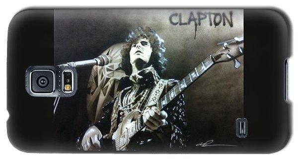 Eric Clapton Galaxy S5 Case - Clapton by Christian Chapman Art