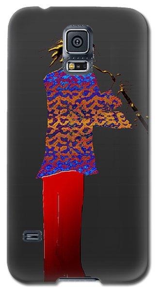 Clarinet Galaxy S5 Case by Asok Mukhopadhyay