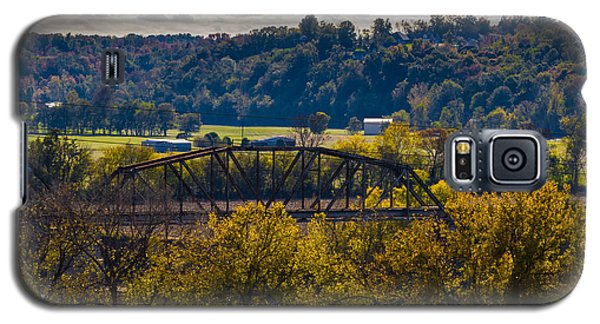Clarksville Railroad Bridge Galaxy S5 Case