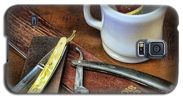 Classic Barber Shop Shave - Barber Shop Galaxy S5 Case by Lee Dos Santos