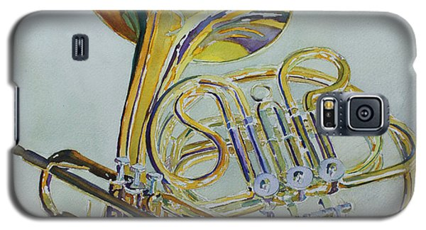 Trumpet Galaxy S5 Case - Classic Brass by Jenny Armitage