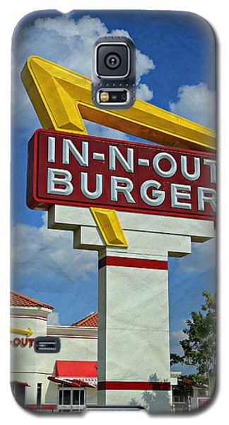 Classic Cali Burger 1.1 Galaxy S5 Case by Stephen Stookey