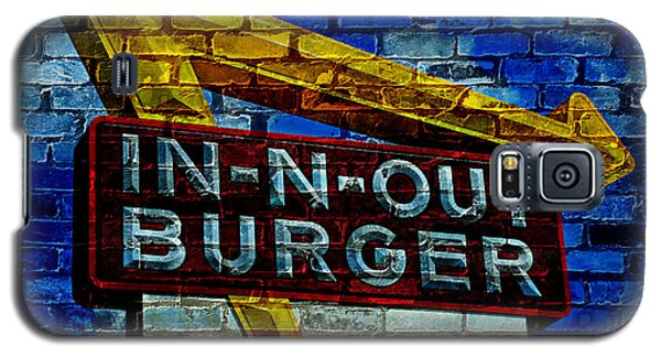 Classic Cali Burger 2.4 Galaxy S5 Case by Stephen Stookey
