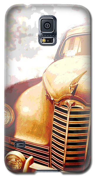 Classic Car 1940s Packard  Galaxy S5 Case by Ann Powell