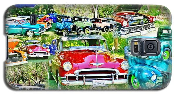 Classic Car Collage Galaxy S5 Case