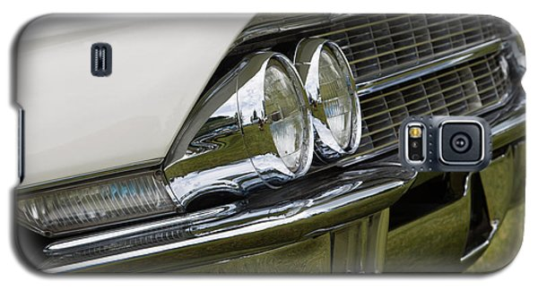 Galaxy S5 Case featuring the photograph Classic Car Front Wing And Lights by Mick Flynn