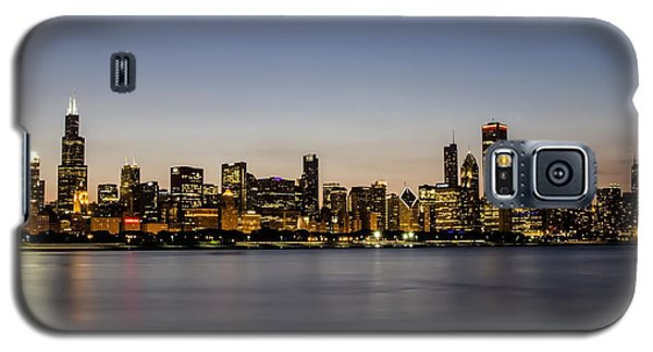 Classic Chicago Skyline At Dusk Galaxy S5 Case
