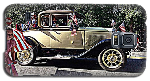 Galaxy S5 Case featuring the photograph Classic Children's Parade Classic Car East Millcreek Utah 1 by Richard W Linford