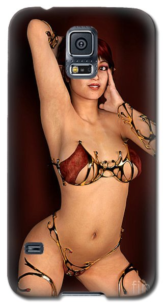 Classic Elf Pin Up Galaxy S5 Case