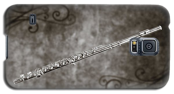 Classic Flute Music Instrument Photograph In Sepia 3306.01 Galaxy S5 Case
