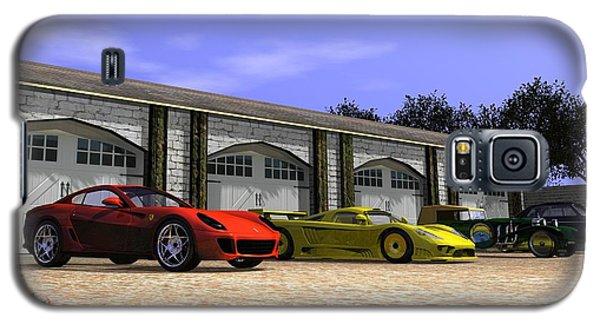 Classic Garage Galaxy S5 Case by John Pangia