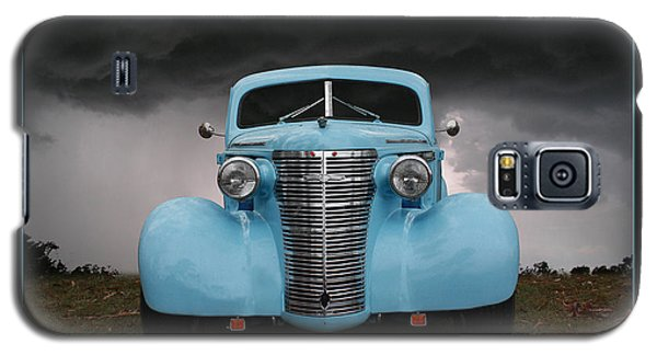 Galaxy S5 Case featuring the photograph Classic In Blue by Keith Hawley