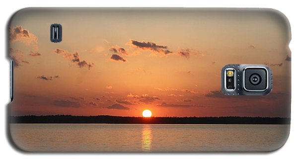 Classic Lake Sunset Galaxy S5 Case