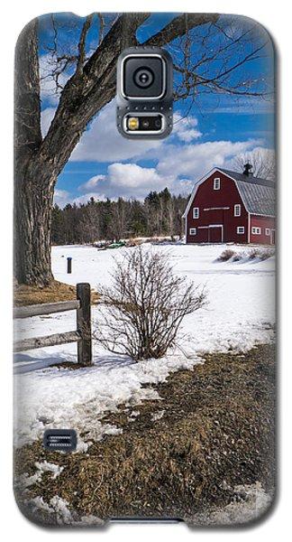 Classic New England Farm Scene Galaxy S5 Case