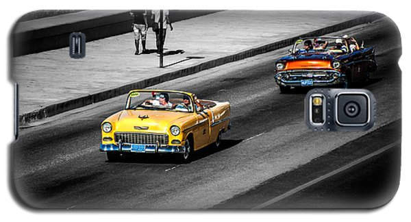 Classic Old Cars V Galaxy S5 Case by Patrick Boening