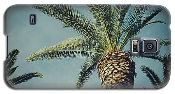 Galaxy S5 Case featuring the photograph Classic Palms2 by Meghan at FireBonnet Art