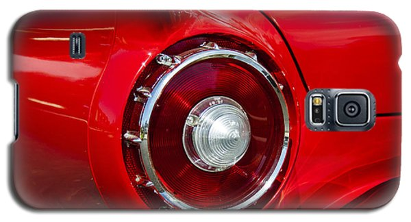 Galaxy S5 Case featuring the photograph 1957 Ford Thunderbird Classic Car  by Jerry Cowart