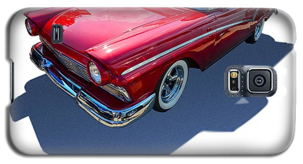 Galaxy S5 Case featuring the photograph Classic Red Truck by Gianfranco Weiss