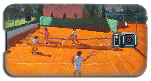 Sport Galaxy S5 Case - Clay Court Tennis by Andrew Macara