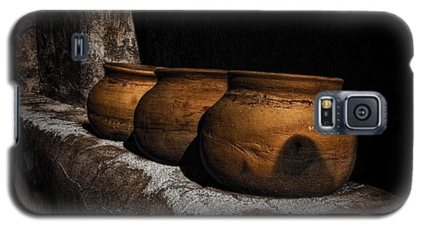 Clay Pots  ... Galaxy S5 Case by Chuck Caramella