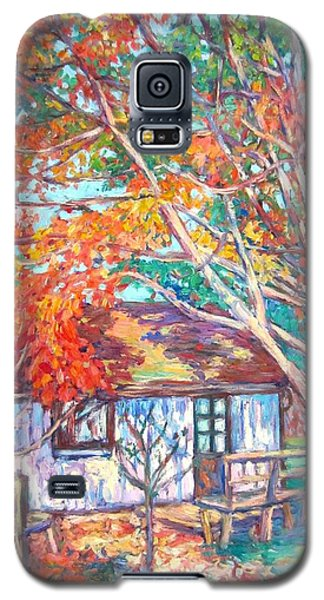 Claytor Lake Cabin In Fall Galaxy S5 Case