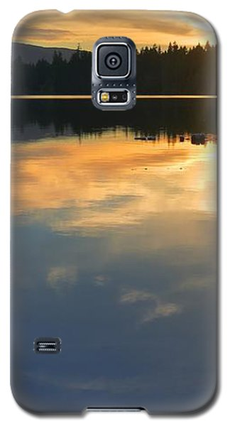 Clear Lake Sunset Galaxy S5 Case