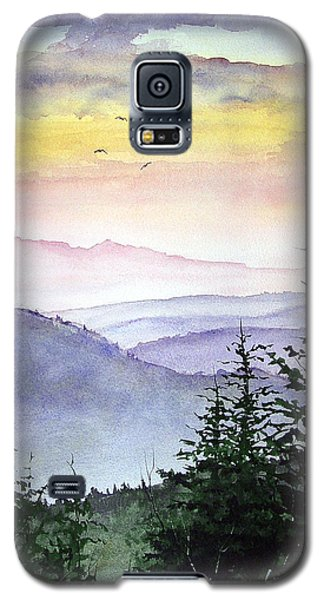 Clear Mountain Morning II Galaxy S5 Case