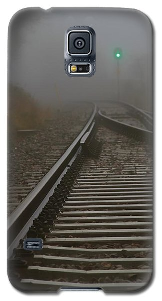 Clear Track Galaxy S5 Case by Odd Jeppesen