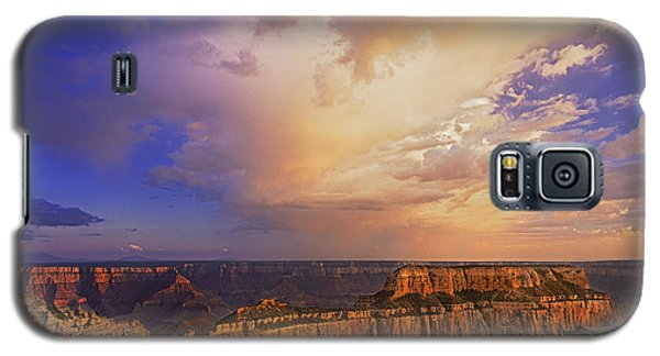 Galaxy S5 Case featuring the photograph Clearing Storm Cape Royal North Rim Grand Canyon Np Arizona by Dave Welling