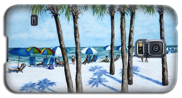 Clearwater Beach Morning Galaxy S5 Case by Penny Birch-Williams
