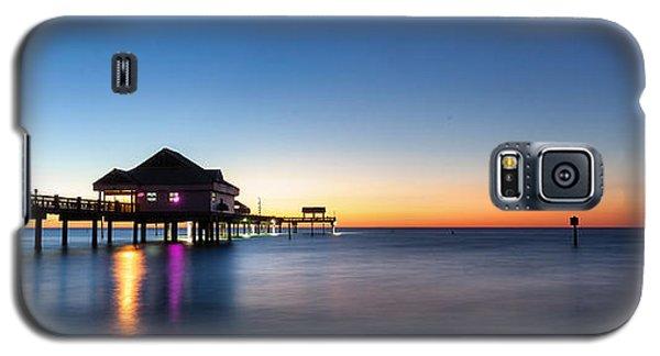 Clearwater Beach Pier Galaxy S5 Case by Steven Reed