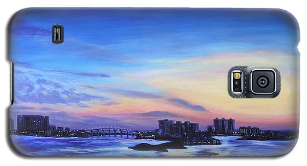 Clearwater Beach Sunset Galaxy S5 Case by Penny Birch-Williams
