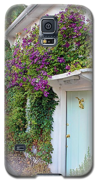 Clematis Around The Door Galaxy S5 Case