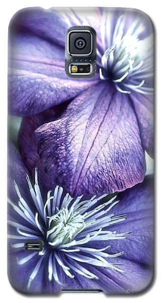 Clematis Galaxy S5 Case by Linda Bianic