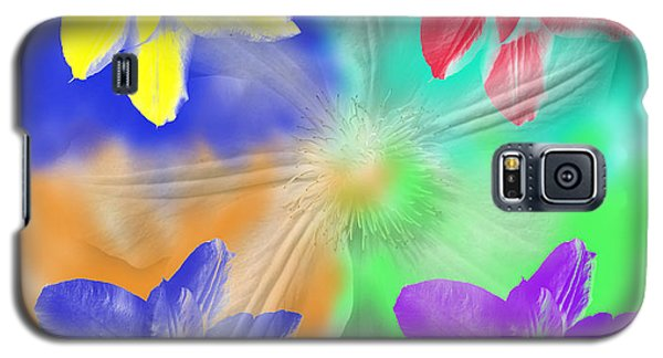 Clematis Osmosis Two Galaxy S5 Case