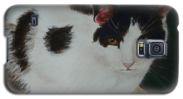 Cleo- Painting Galaxy S5 Case by Veronica Rickard