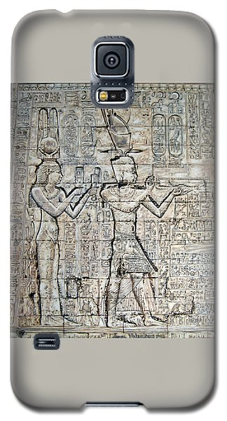 Cleopatra And Caesarion Galaxy S5 Case