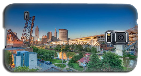 Cleveland Abstract Hdr Galaxy S5 Case