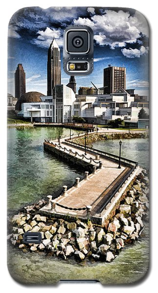 Cleveland Inner Harbor - Cleveland Ohio - 1 Galaxy S5 Case