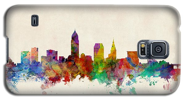 Cleveland Ohio Skyline Galaxy S5 Case