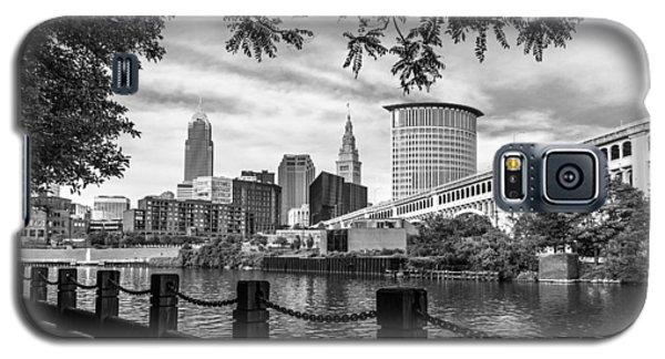 Cleveland River Cityscape Galaxy S5 Case