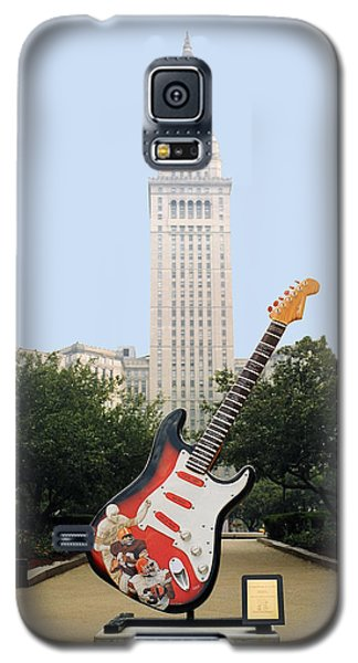 Galaxy S5 Case featuring the photograph Cleveland Rocks by Terri Harper
