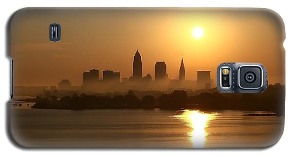 Cleveland Skyline At Sunrise Galaxy S5 Case