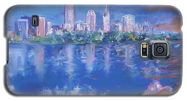 Cleveland View Galaxy S5 Case by Mary Armstrong